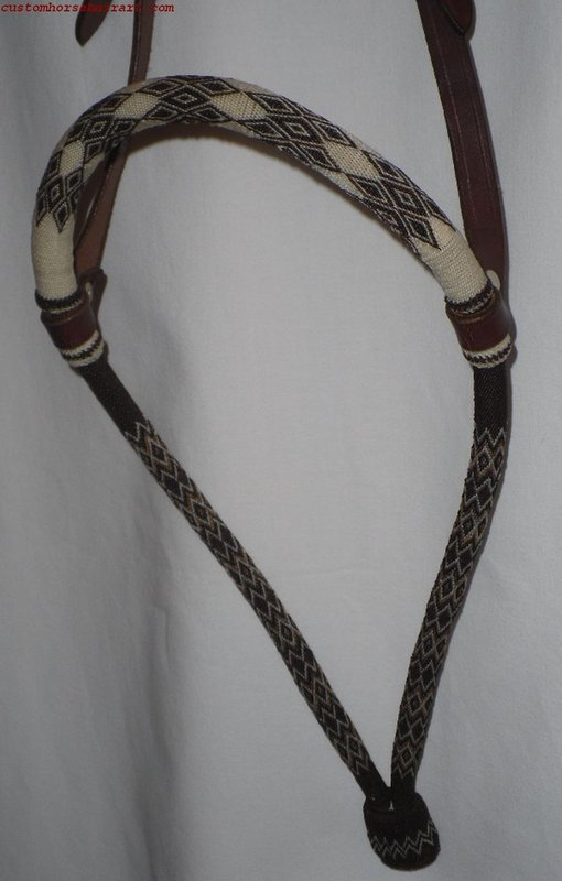 Hitched Horsehair Bosal